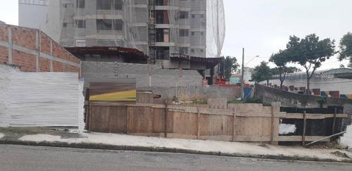 Terreno À Venda, 125 M² Por R$ 310.000 - Vila Curuçá - Santo André/sp - Te0996