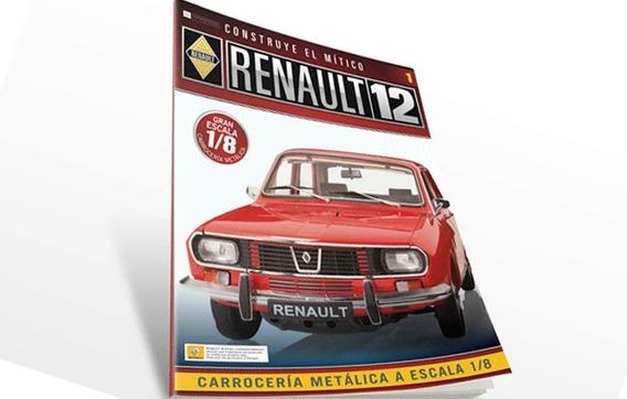 Renault 12 Para Armar. Eaglemoss. Entrega N° 5
