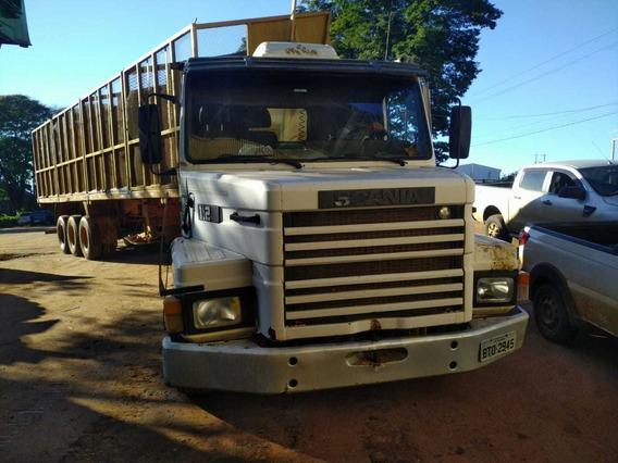 Scania 112 Hs 4x2 360 Interculado Ano 1987/1987 R$ 45.000.