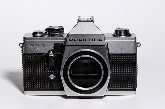Câmera Praktica Mtl3 Com Lente 50mm 1.8