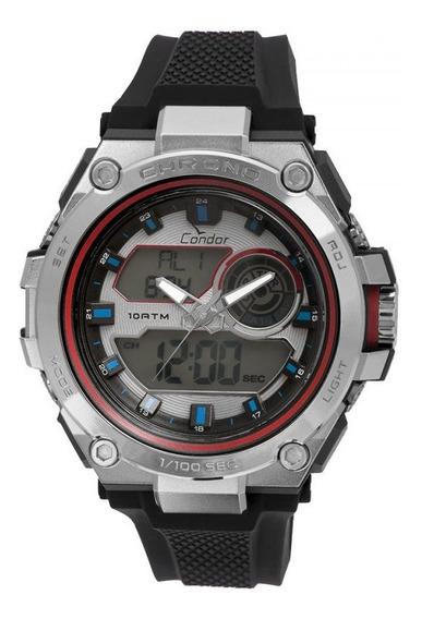 Relógio Condor Masculino Anadigi Co1161b/8k