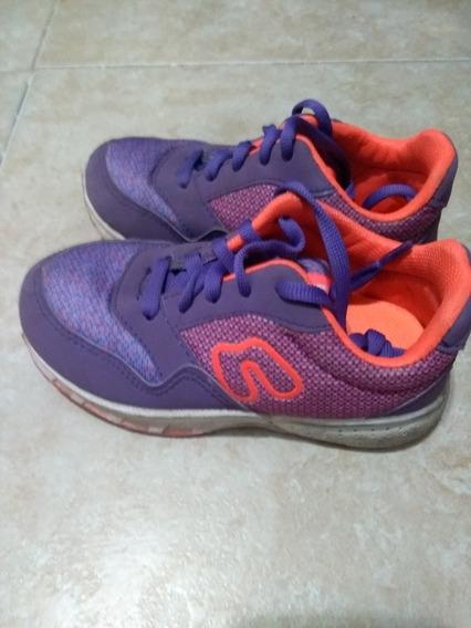 Zapatillas Violetas N 27