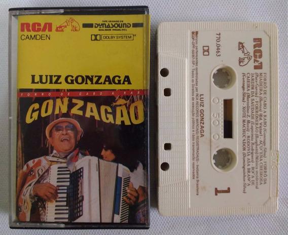 Luiz Gonzaga Forró De Cabo A Rabo Fita K7 Rca 1986