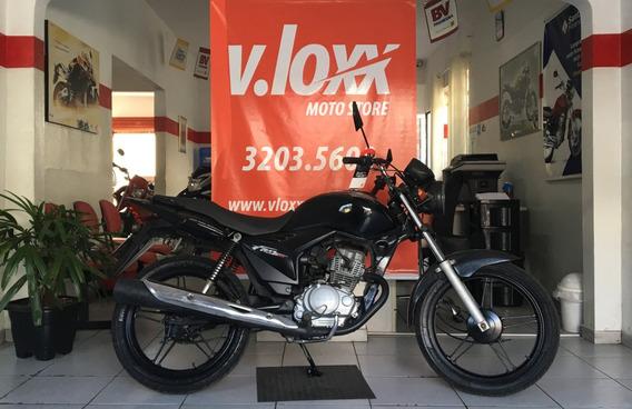 Honda Cg 150 Fan Esi Preta 2011