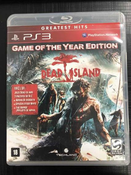 Jogo Ps3 Dead Island Mídia Física Completo Envio Imediato!