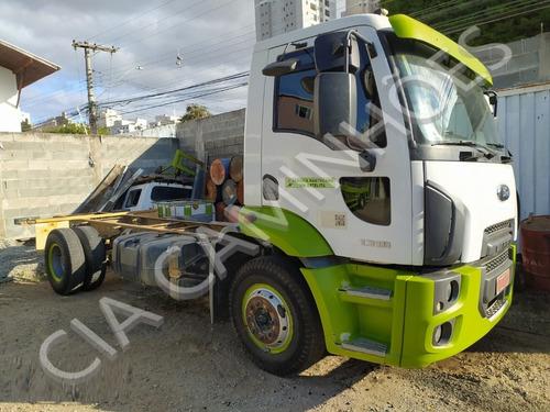 Imagem 1 de 10 de Ford Cargo 1319 Ano 2013 No Chassi Unico Dono