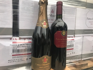 Champagne Fabre Brut Nature Vino Fabre Tucumán X Unidad
