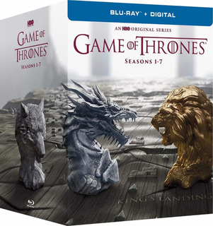 Bluray Box Set Game Of Thrones Temporadas 1-7