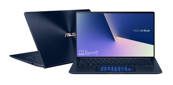 Notebook Asus I7 8gb 512gb 14 Ux433fa-6473t Azul
