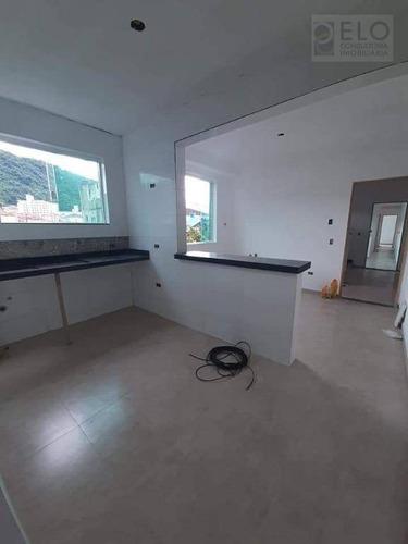 Apartamento Com 2 Dormitórios À Venda, 50 M² Por R$ 265.000,00 - Marapé - Santos/sp - Ap1533