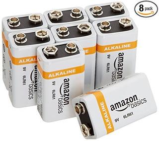 Baterías Alcalinas De Uso Diario De 9 Voltios (paquete De 8)
