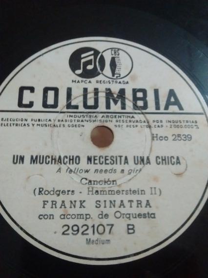Frank Sinatra Disco Pasta Columbia 292107 C63