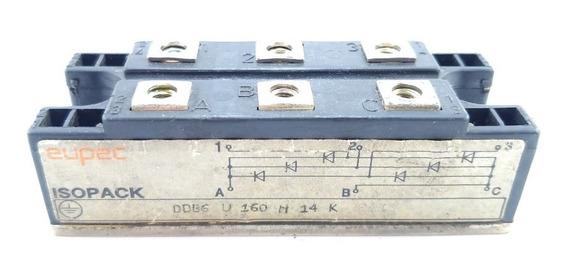Diodo Ddb6u160n14k ; Ddb6 U 160 N 14 K Eupec