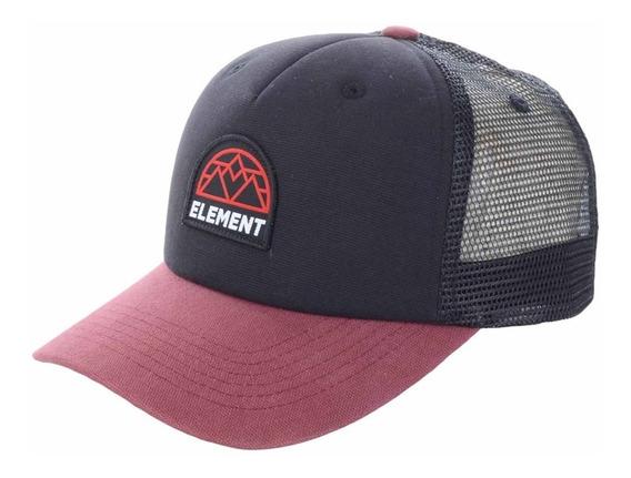 Boné Trucker Element Icon Mesh Cap Preto - Original