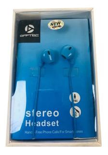 Auriculares Premium Efftec Play Ef6909 Calidad + Envio Free