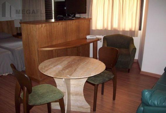 03084 - Flat 1 Dorm, Brooklin Novo - São Paulo/sp - 3084