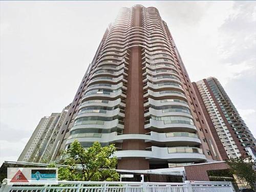 Cobertura Com 4 Dormitórios À Venda, 333 M² Por R$ 3.990.000,00 - Jardim Anália Franco - São Paulo/sp - Co0279