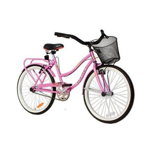 Bicicleta Halley Playera Paseo Dama Lujo Rodado 24