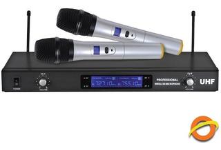 Microfono Inalambrico De Mano Audio Gran Alcance Karaoke