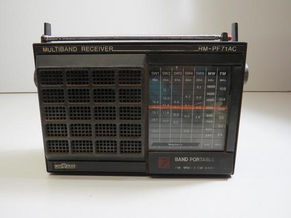Radio Antigo Multiband Receiver Rm Pf 71 Ac