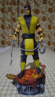 Scorpions Mortal Kombat Impresión 3d Alta Calidad 26 Cm