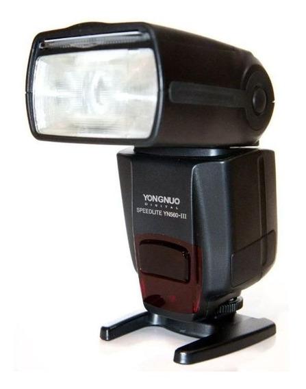 Flash Speedlite Yongnuo Yn560 Iii Para Canon E Nikon