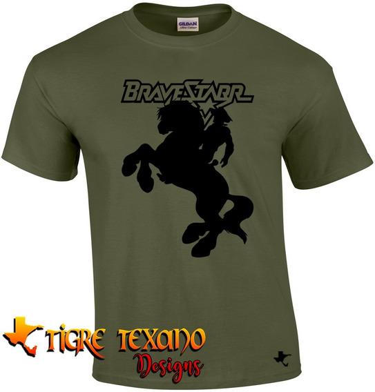 Playera Dibujos Animados Brave Star By Tigre Texano Design