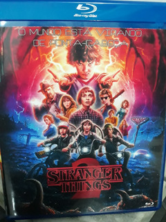 Blu Ray Stranger Things 2ºtemporada Completa Dual Audio