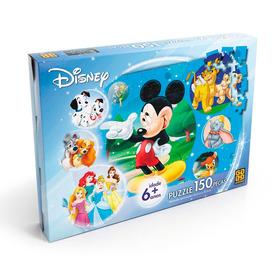 Quebra Cabeça Mickey Disney 150 Peças Grow
