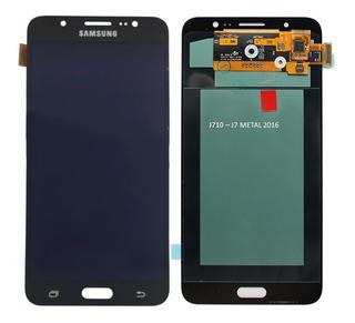 Frontal Tela Touch Display Galaxy J710 J7 Metal 2016 Amoled