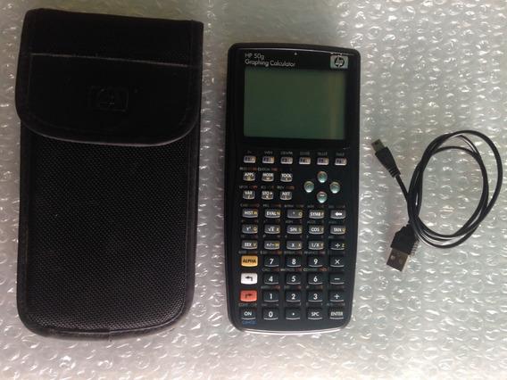 Calculadora Gráfica Hp 50g 512 Kb De Ram Y 2 Mb De Flash Rom