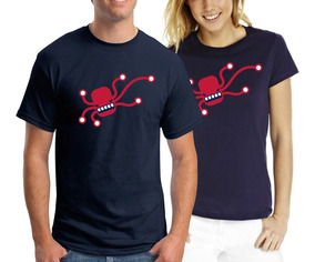 Remera Octopus - Estampados Con Onda - Diseño Exclusivo