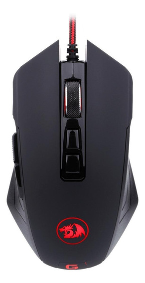 Mouse para jogo Redragon Dagger M715 preto