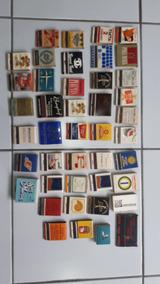 Coleção Caixas De Fósforos Antigas - Dec. 50, 60 E 70
