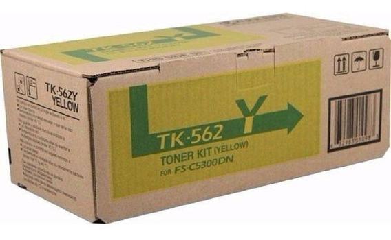 Toner Original Kyocera Tk562 Amarelo Fs-c5300 Fs-c5350 C/ Nf