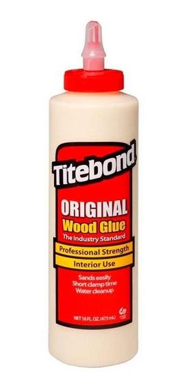 Cola Titebond Original 473ml Especial Luthieria E Marcenaria