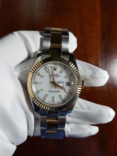 Reloj Rolex Datejust 41mm Combinado Automatico Sumergible