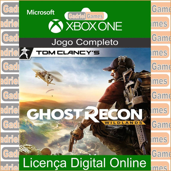 Ghost Recon Wildlands Xbox One Mídia Digital Online