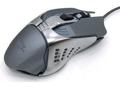 Mouse Gamer Usb Ltm-995 3200 Dpi Cinza Grafite 6 Botões