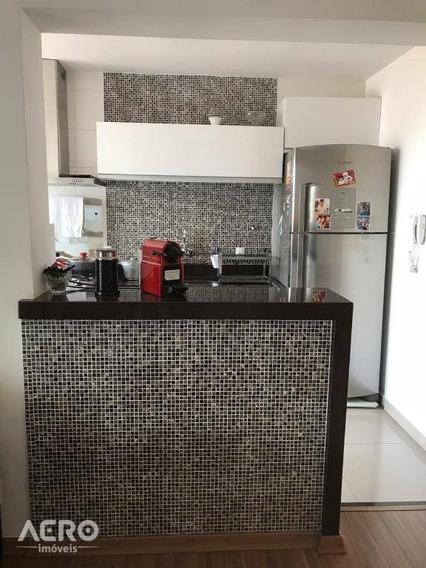 Apartamento Com 2 Dormitórios À Venda, 64 M² Por R$ 400.000 - Jardim Brasil - Bauru/sp - Ap1496