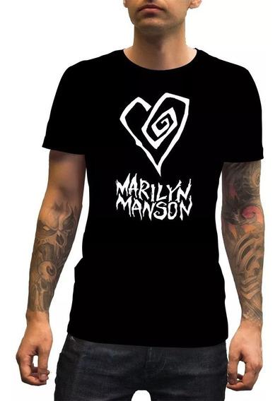Playera Marilyn Manson Hombre, Niño Envío Gratis