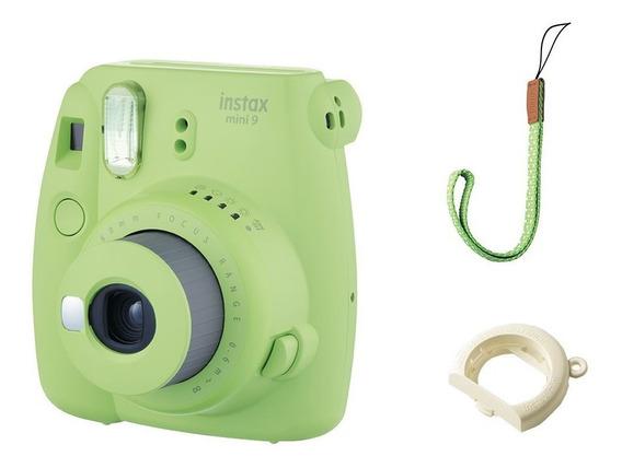 Câmera Fotografia Digital Fujifilm - Mini Polaroid Verde