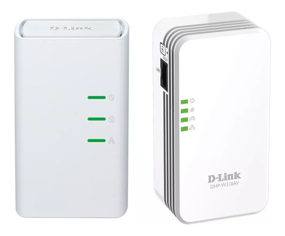 Powerline Kit Repetidor Wifi D-link Av500 300mps Envios 24hs