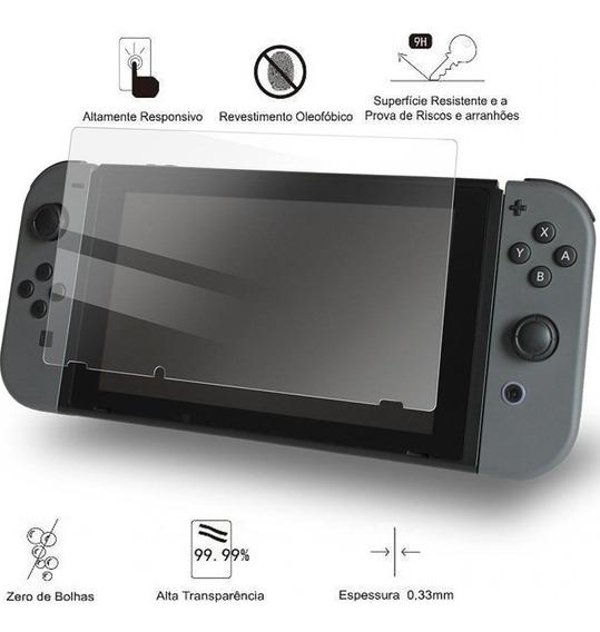 Película Vidro Temperado Nintendo Switch Frete 12$ (leia)