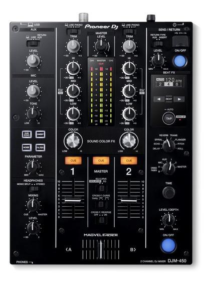 Mixer Pioneer Djm 450 Rekordbox Dj 2 Canais Djm-450 A Vista Lj 3.500