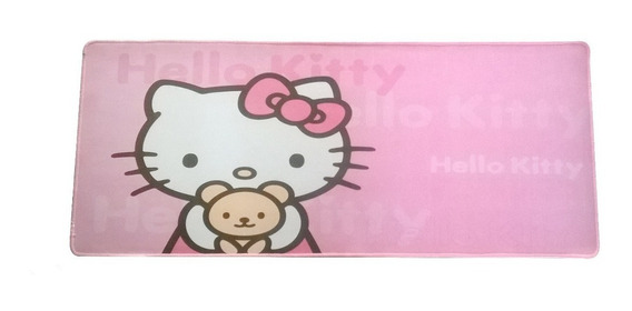 Mouse Pad Gamer Grande Hello Kitty 70 X 30 Cm C1