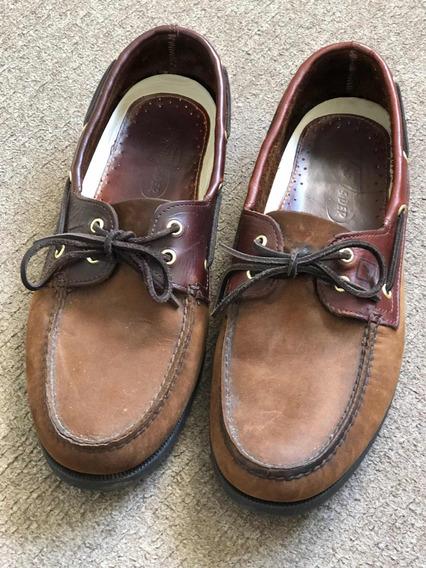 Zapatos Náuticos Sperry Top Sider 13 Usa Combinados Nobuk.