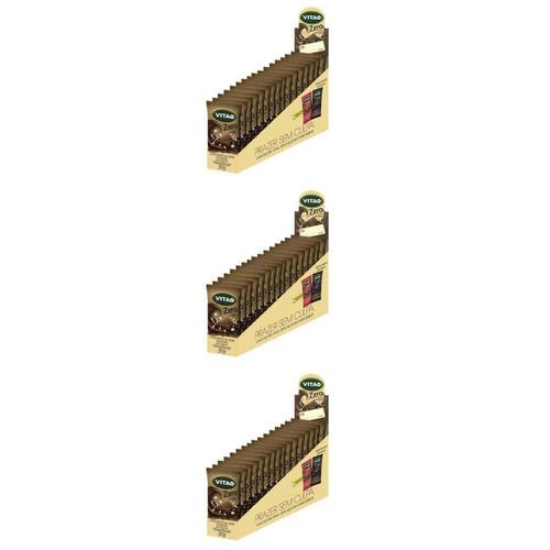 Vitao Chocolate Zero Ao Leite C/ Cereais 18x30g (kit C/03)