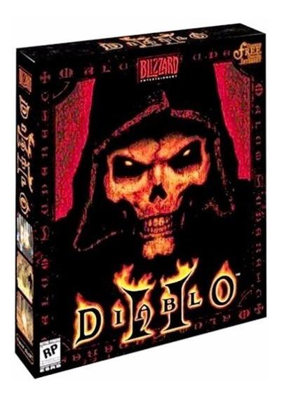 Jogo Pc Box Diablo 2 Original Blizzard Mídia Fìsica Co Caixa