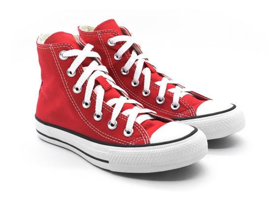 Tênis Converse Allstar Ct00040004 Vermelho/cru/preto